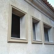 Molduras de isopor para janelas